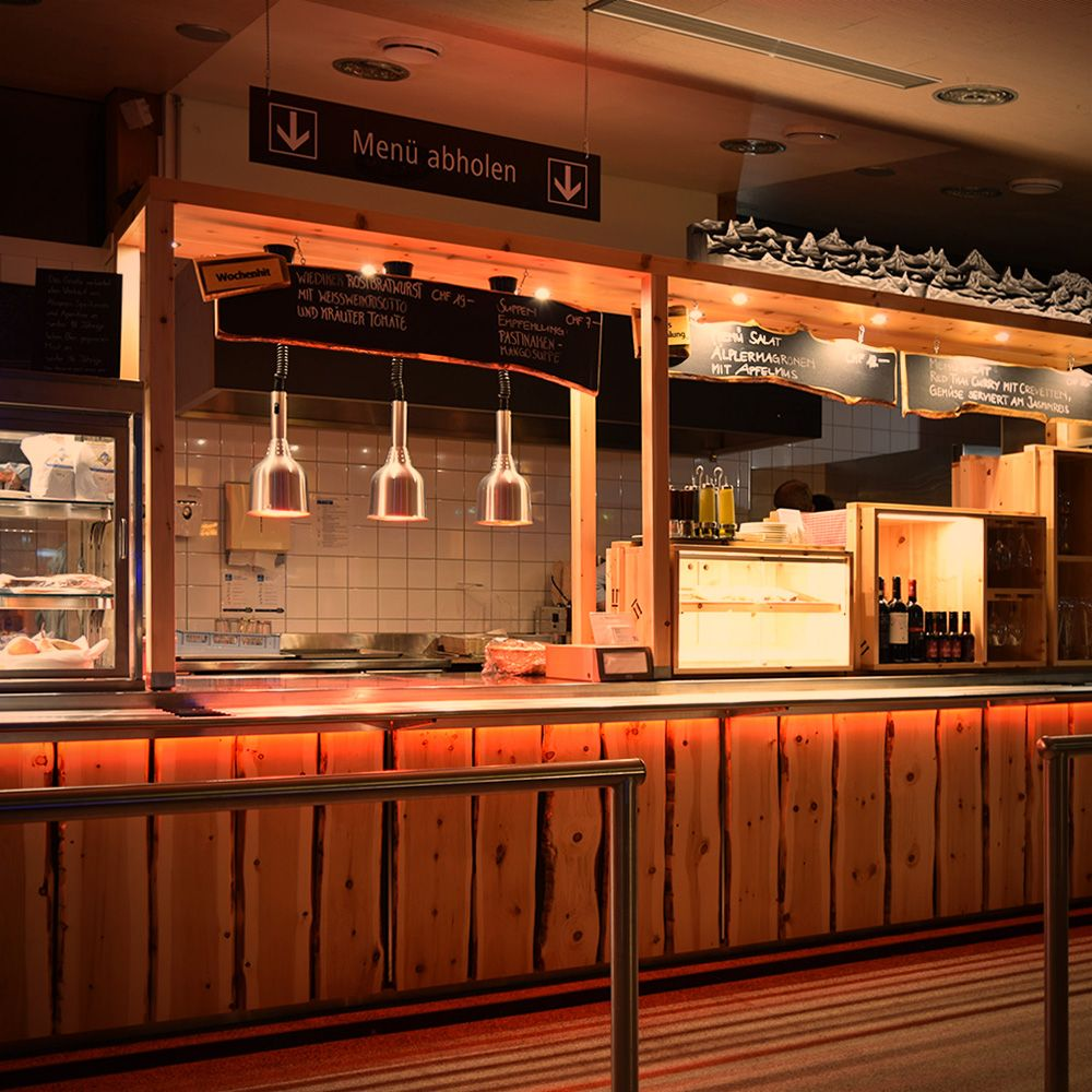 Restaurant Dolder Kunsteisbahn Mit Blick Aufs Eis